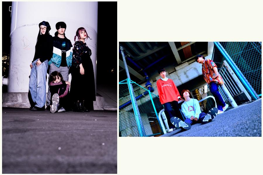 School Meets Geek 「薄っぺらい愛を込めて」リリースツアー 東京編×nagori「水平線とロードムービーTOUR