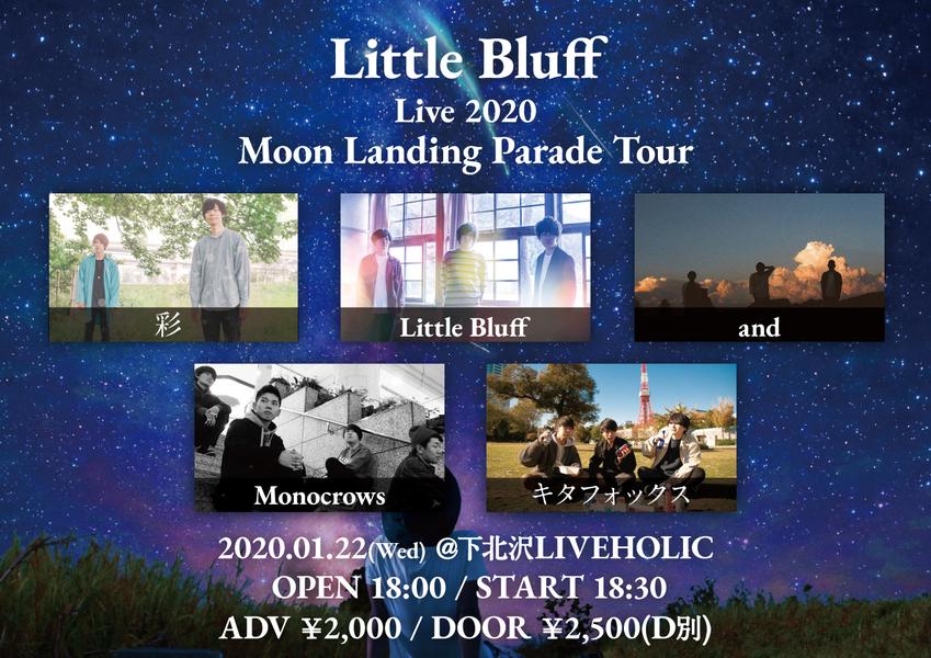 Little Bluff Live 2020 Moon Landing Parade Tour